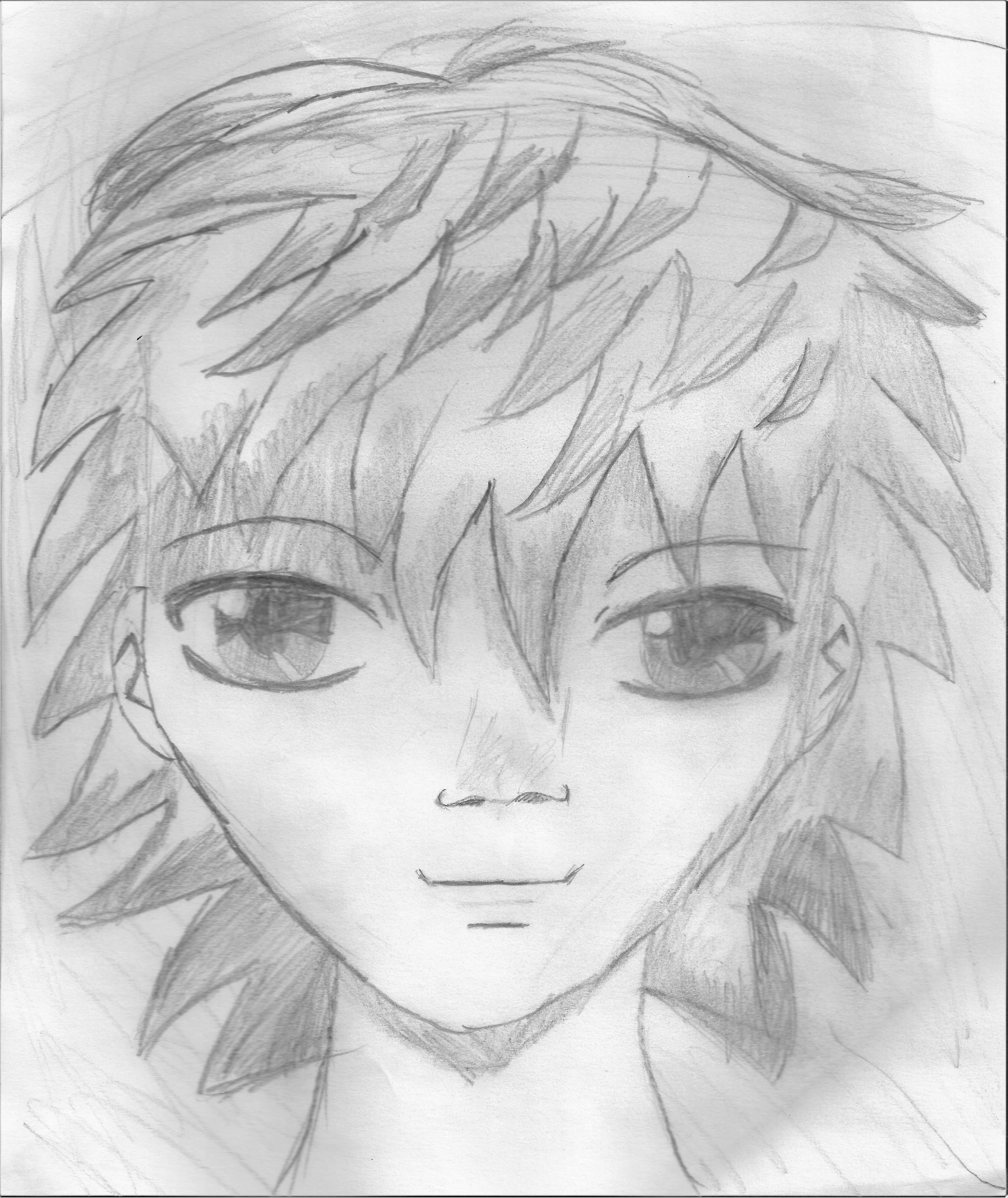 Dessin Portrait manga de Kizla