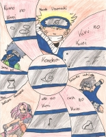 Dessin Le monde de Naruto de Kizla