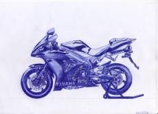 Dessin Yamaha R1 de F0x_BzH
