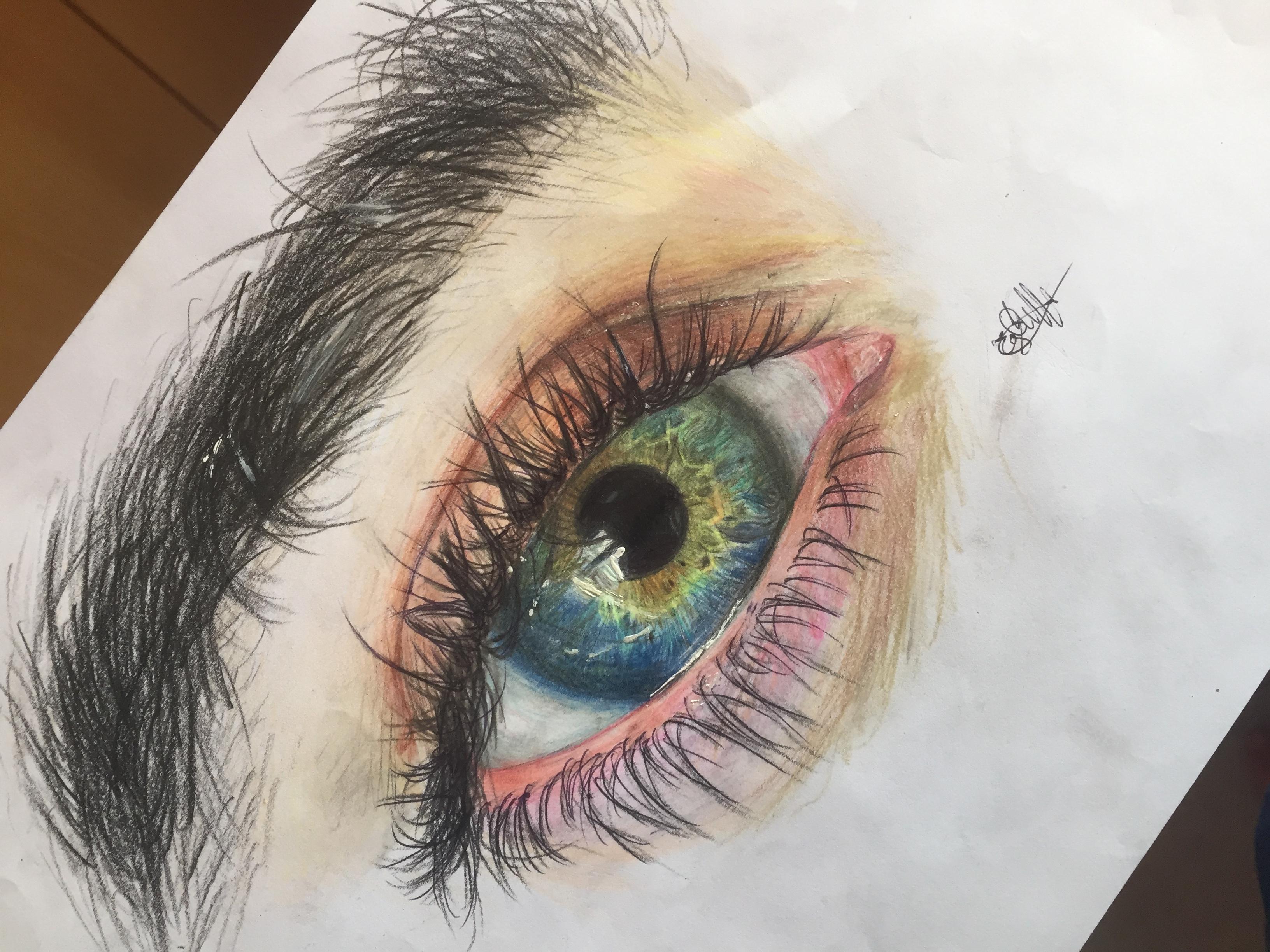 Dessin Oeil Realiste Pencildrawing Fr