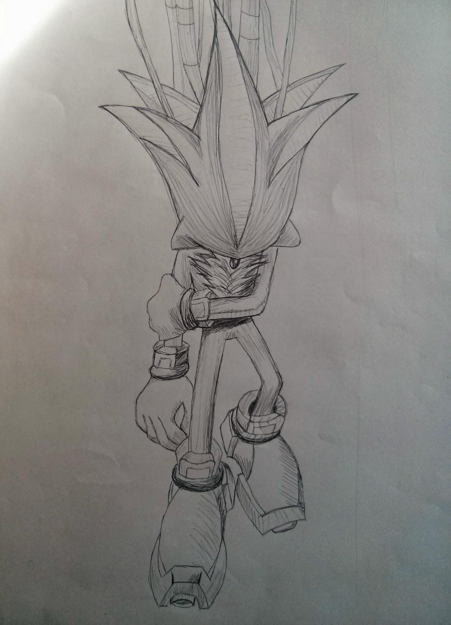 Dessin Shadow de Onizuka