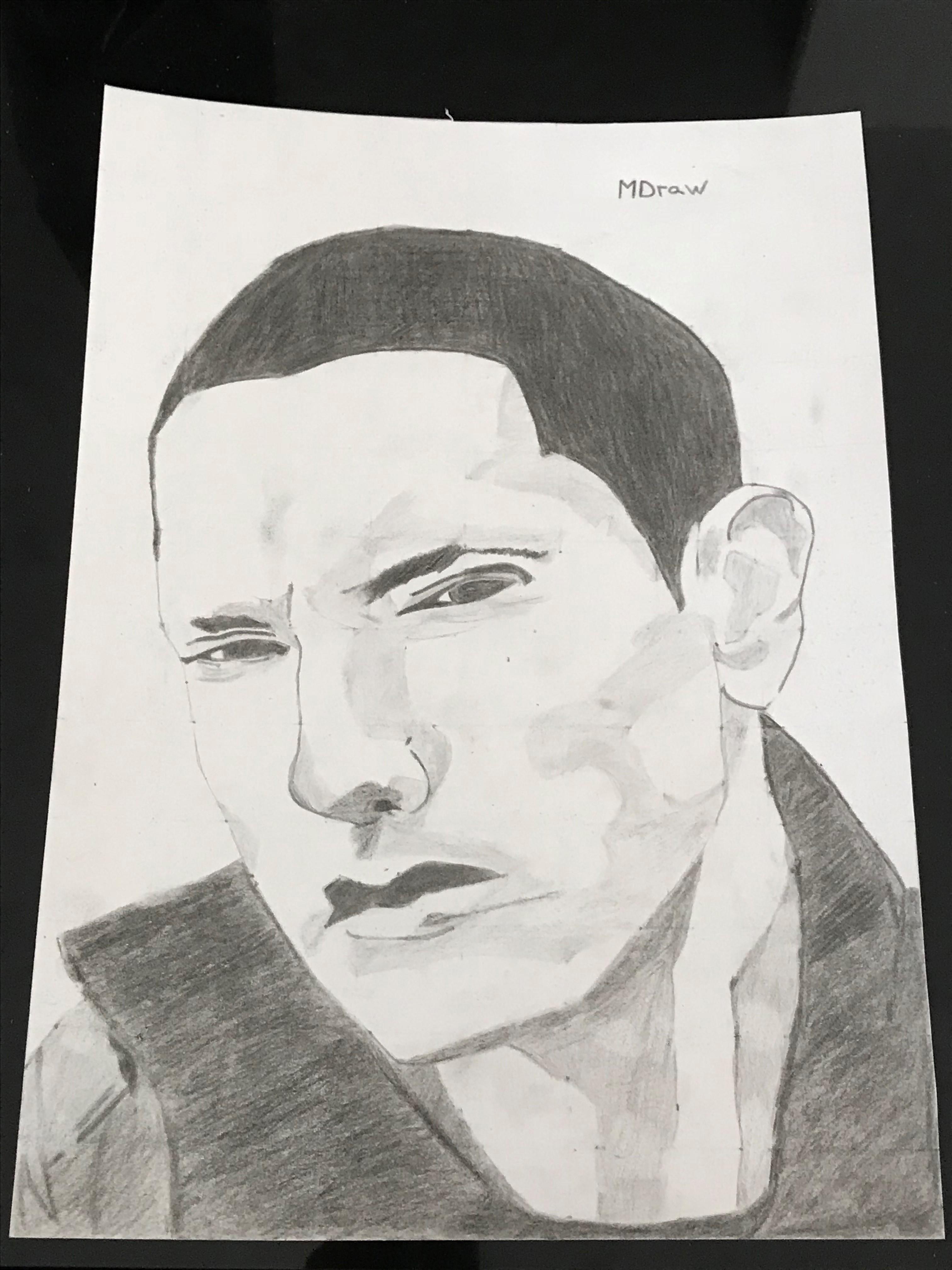Dessin Eminem de MICKADRAW