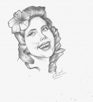 Dessin Pin up de Cricou77