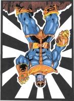 Dessin Thanos de Jjdrawing