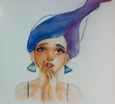 Dessin Aquarelle de Pastel