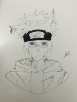 Dessin Fanart de Naruto de Iitaichii