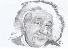 Dessin Abert Einstein de Patoux