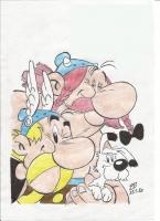 Dessin Asterix de Patoux