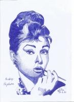 Dessin Audrey Hepburn de Patoux