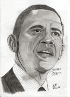 Dessin Barack Obama de Patoux