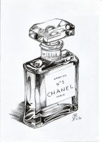 Dessin Chanel de Patoux