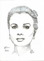 Dessin Grace Kelly de Patoux