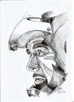 Dessin Robert Downey Jr de Patoux