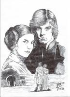 Dessin Star wars de Patoux