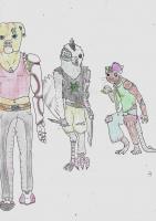 Dessin Cyberpunka chien de Claircendre999