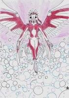Dessin Déesse avian de Claircendre999