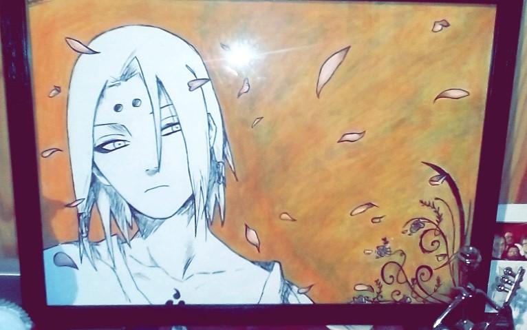 Dessin Kimimaro   Naruto de FannyDraw