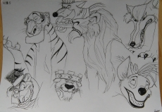 Dessin Méchants   Disney de FannyDraw