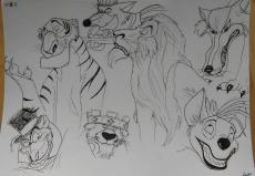 Dessin Méchants   Disney de FannyDraw