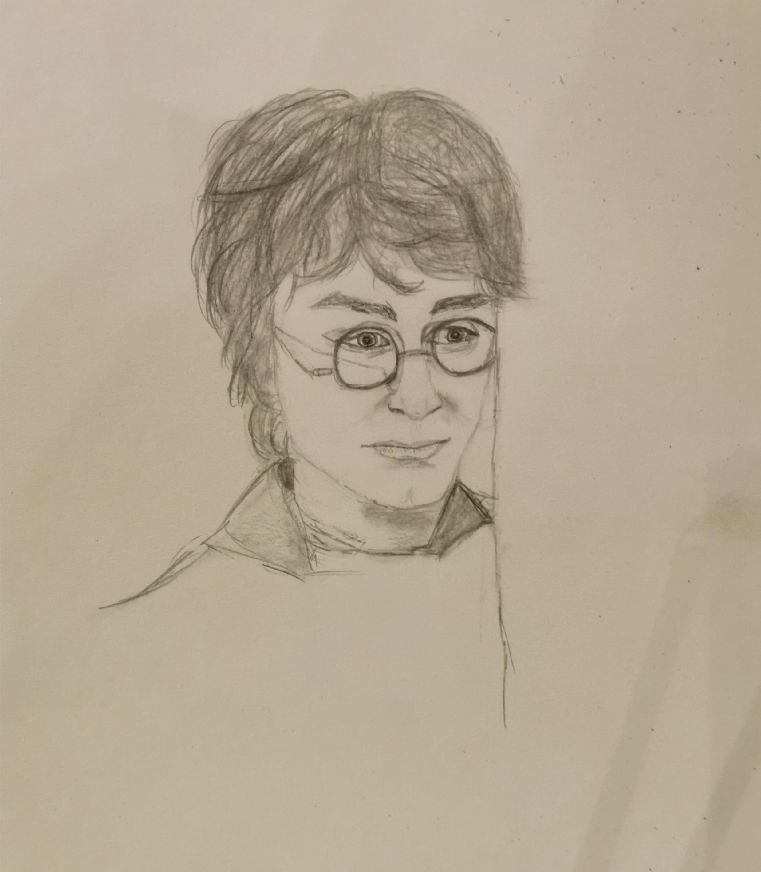 Dessin Harry Potter de Myr2006