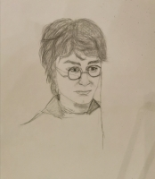 Dessin Harry Potter de Myr2006