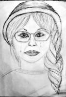 Dessin Visage de femme de Myr2006