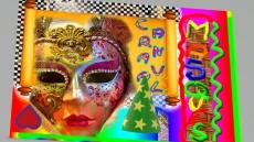 Dessin Les masques de carnaval mieux que les masques. de Master