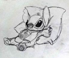 Dessin Stitch01 de Midona