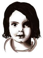 Dessin Amelie Nothomb de Midona