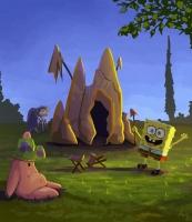 Dessin Bob et Patrick en vacances de Midona