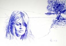 Dessin Brigitte Bardot de Demanart