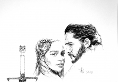 Dessin Game of trhones de Demanart
