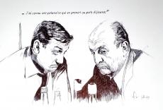 Dessin Les tontons flingeurs de Demanart
