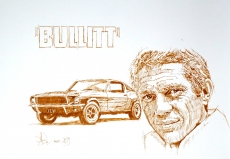 Dessin Steve mc queen de Demanart