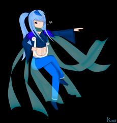 Dessin Blue Bard de Kori
