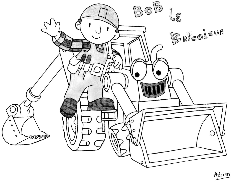Dessin bob le bricoleur 2 - Bricoleur dessin ...