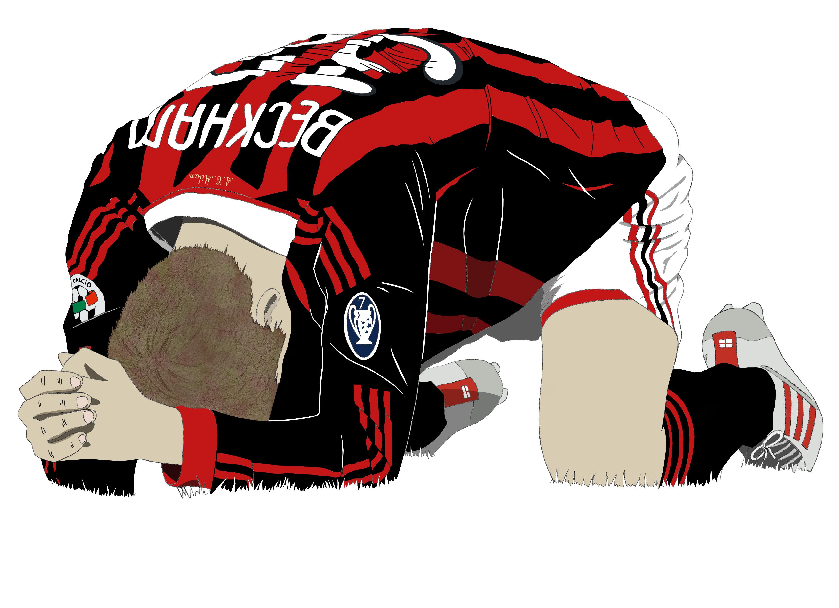 Dessin David Beckham couleur de Adrien72140