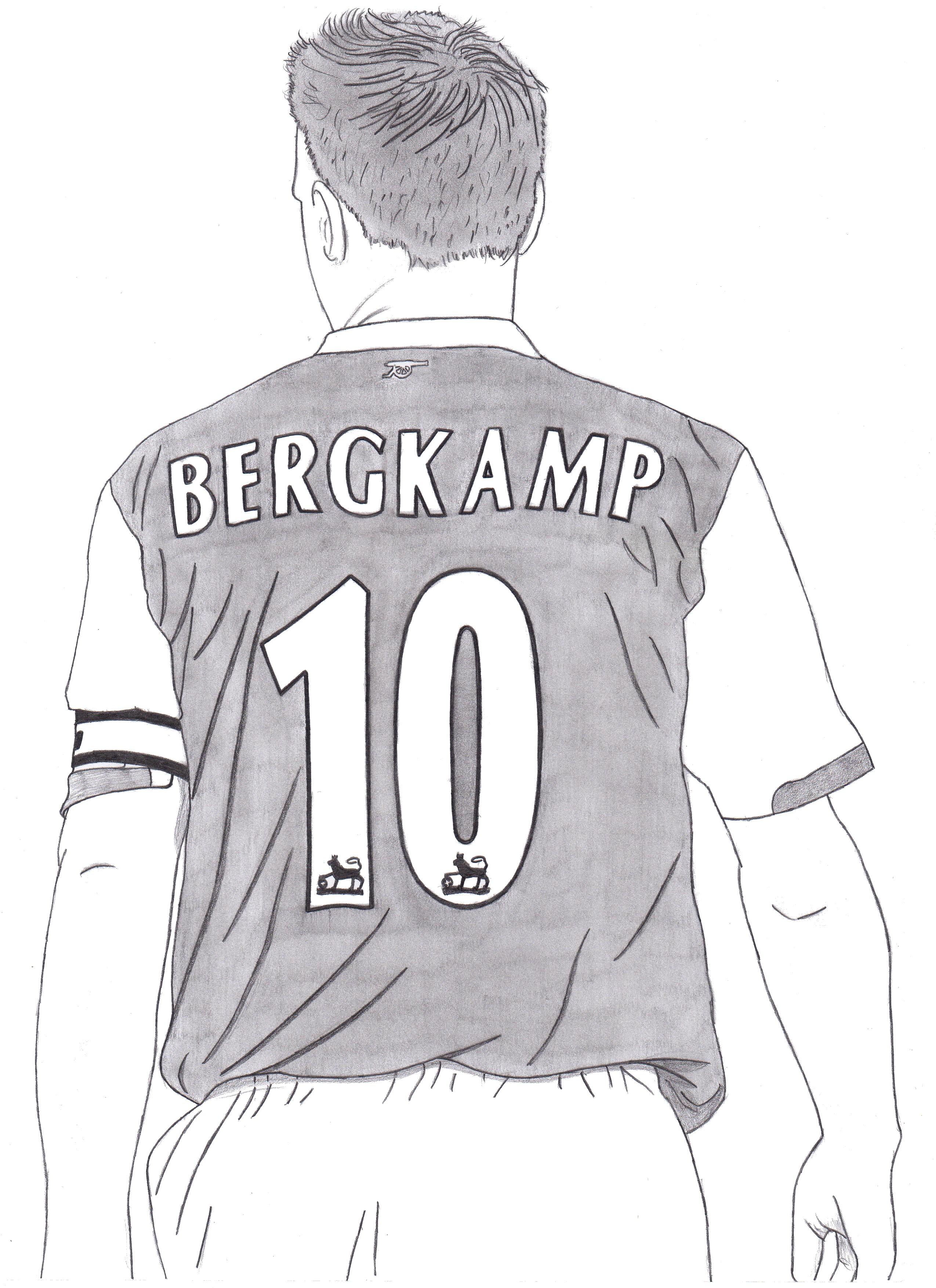 Dessin Dennis Bergkamp de Adrien72140