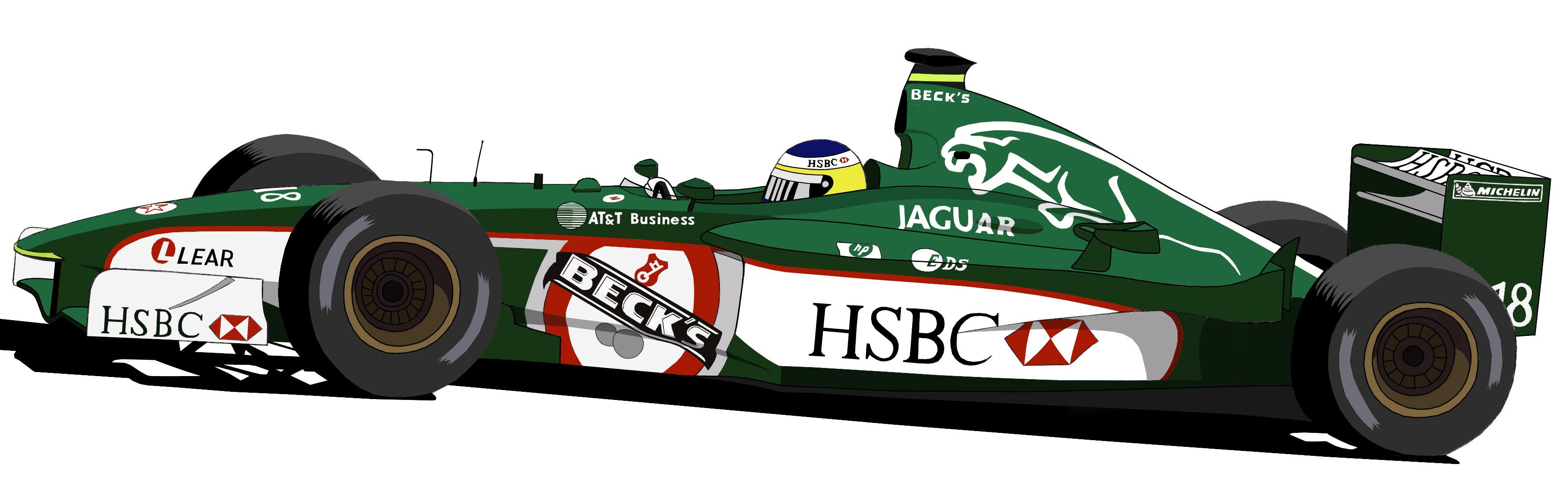 Dessin Jaguar F1 couleur de Adrien72140