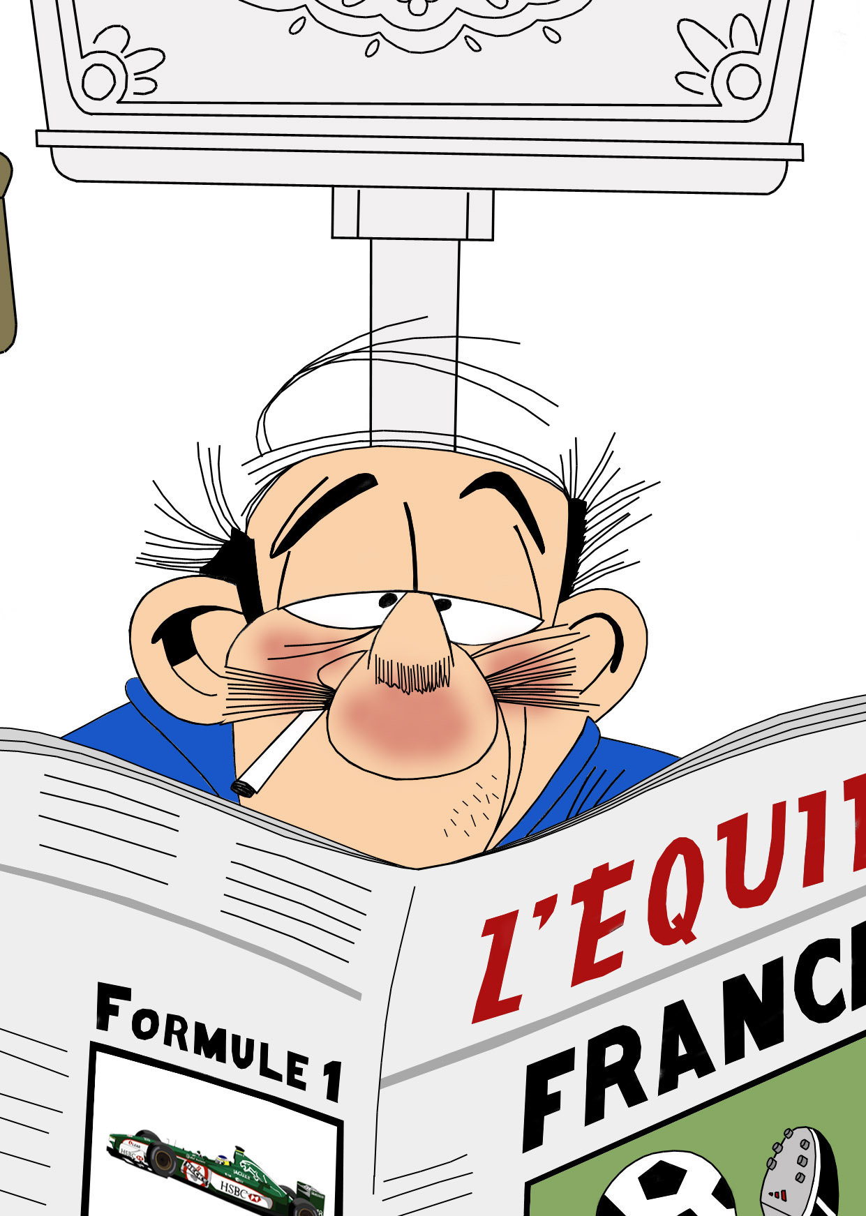 Dessin Le petit Spirou 2 couleur de Adrien72140