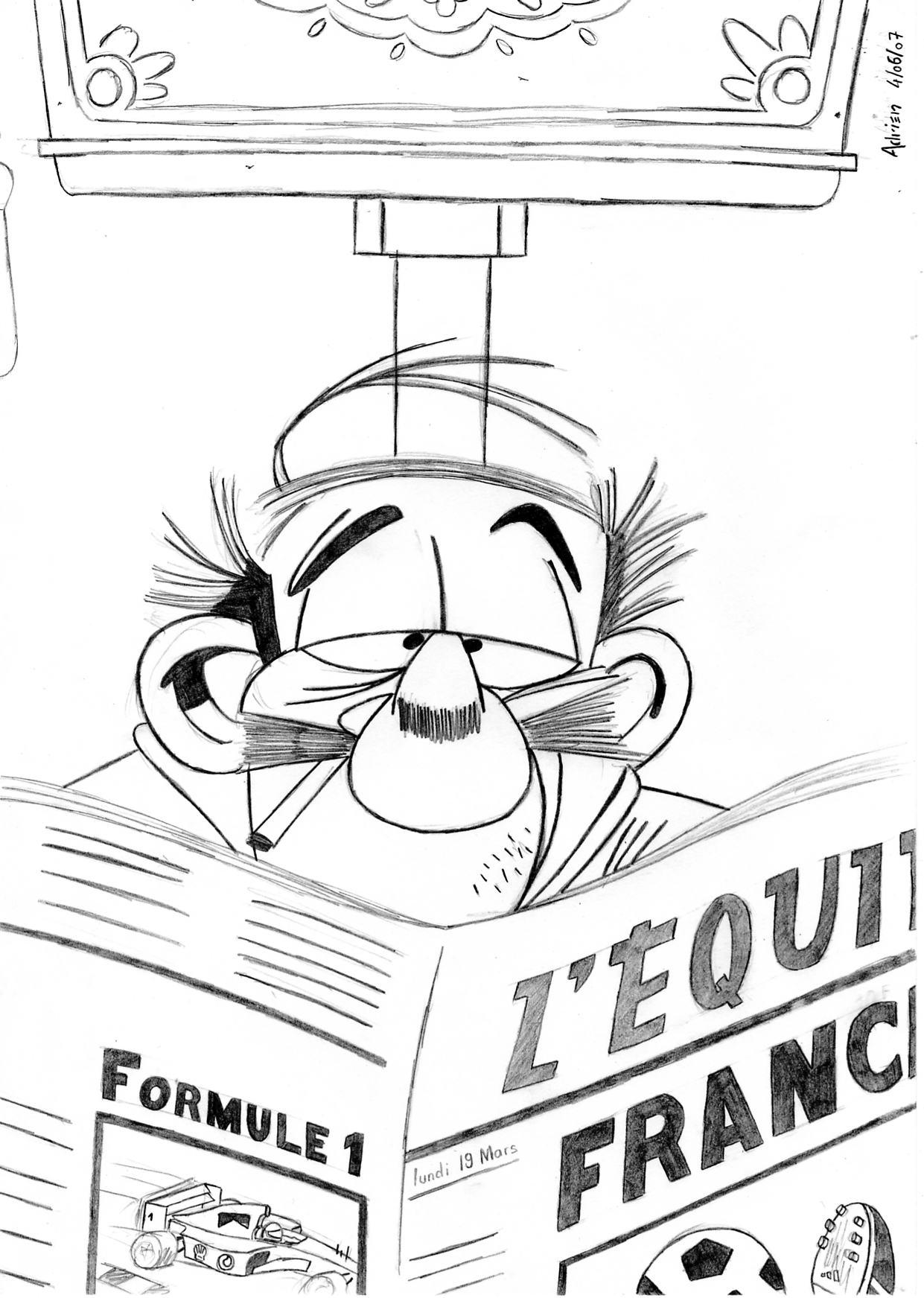 Dessin Le petit Spirou 2 de Adrien72140