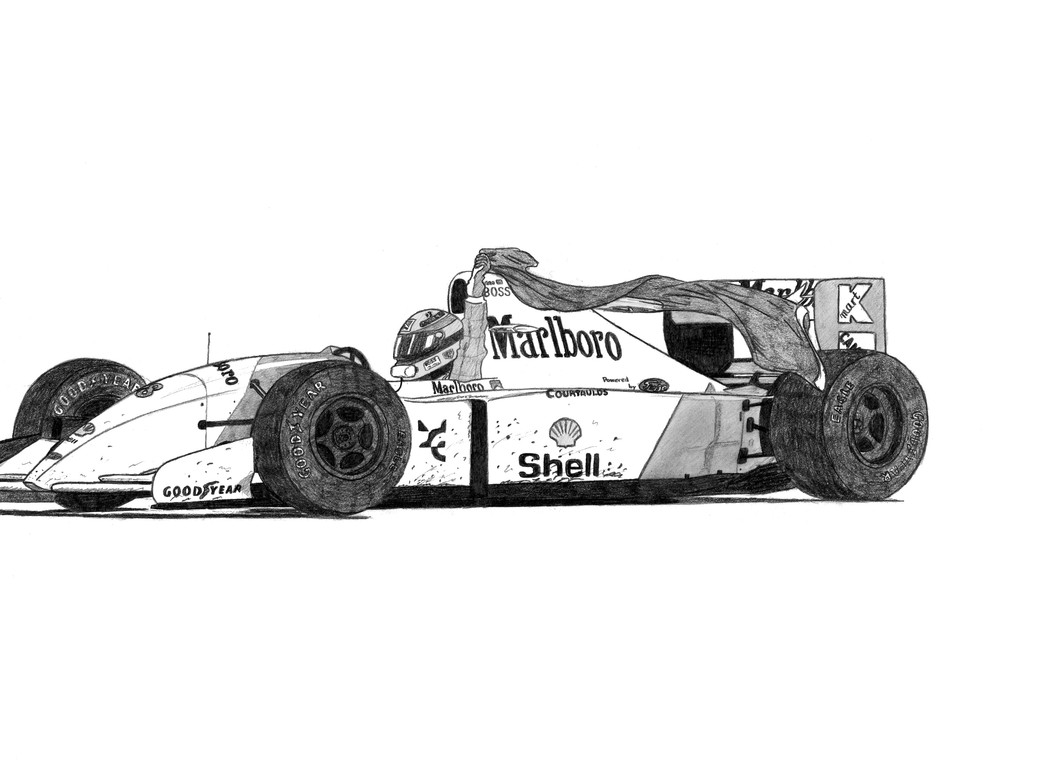Dessin McLaren MP4 4 de Adrien72140