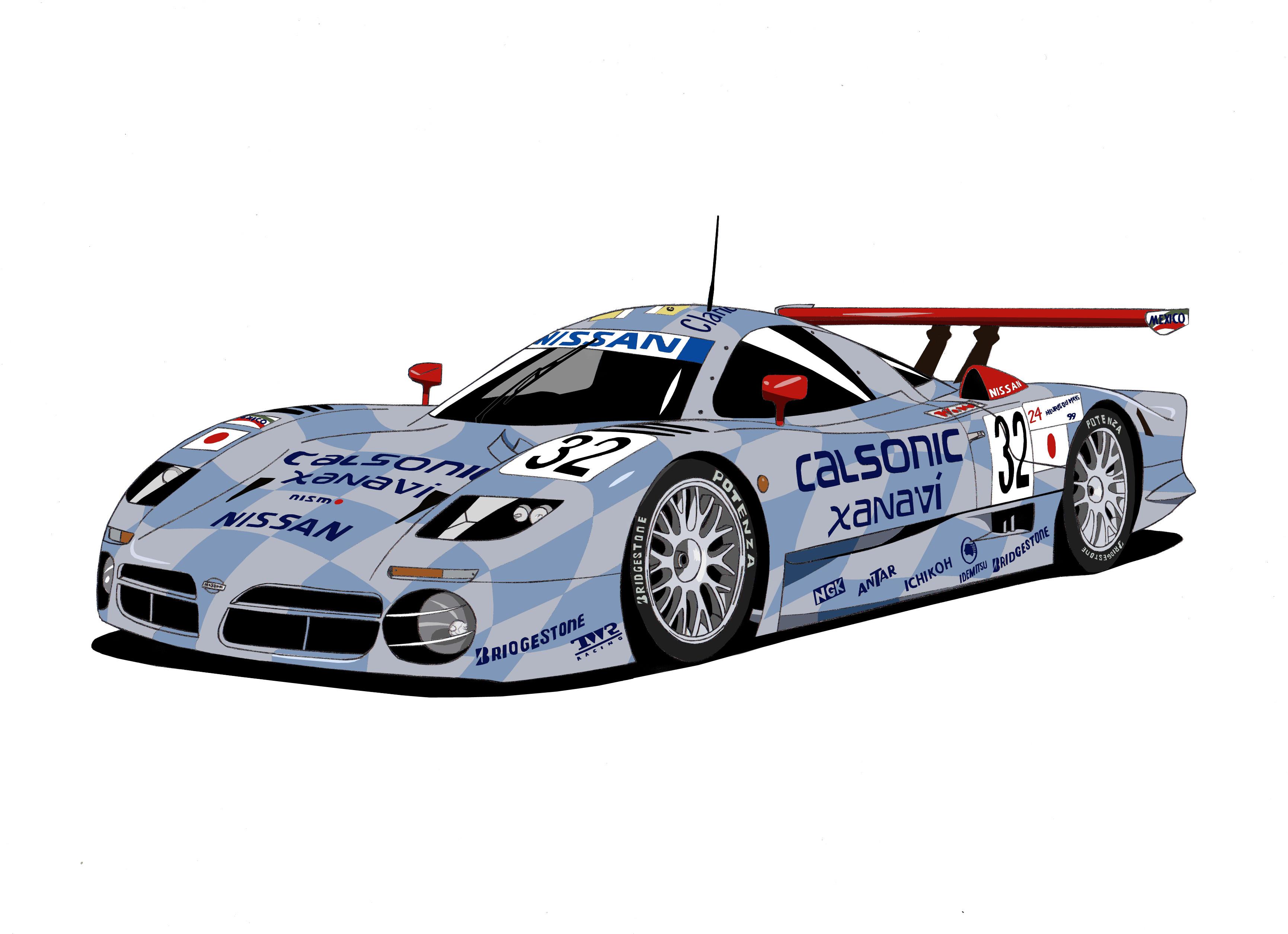 Dessin Nissan R391 GT1 couleur de Adrien72140