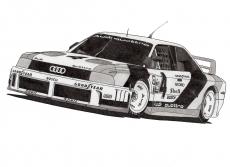 Dessin Audi 90 IMSA GTO de Adrien72140