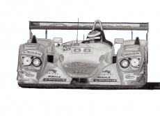 Dessin Audi R8 LMP 900 Team Veloqx de Adrien72140