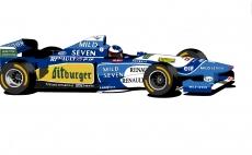 Dessin Benetton Renault de Adrien72140