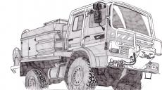 Dessin Camion de pompier de Adrien72140