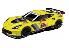 Dessin Corvette Racing C7R couleur de Adrien72140