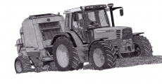 Dessin Fendt Farmer 312 de Adrien72140