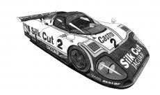Dessin Jaguar XJR9 LM 88' de Adrien72140